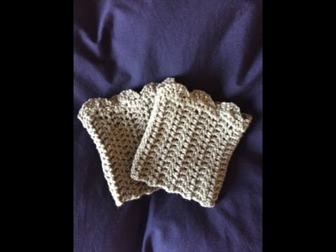 Crochet Boot Cuffs Step By Step Instructions By Diy From Home