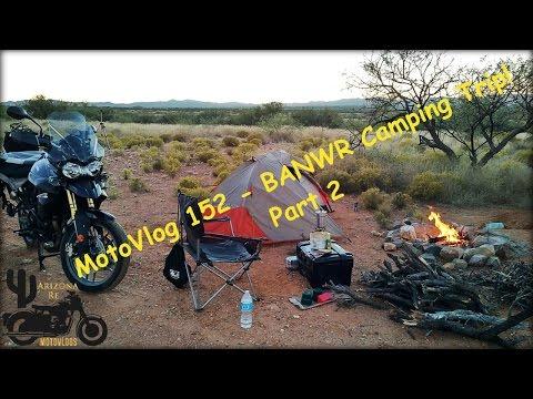 MotoVlog 152 - Buenos Aires National Wildlife Refuge Camping Trip Episode 2 - Triumph Tiger 800