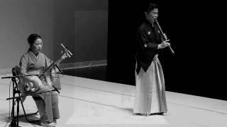 J22 尺八 SHAKUHACHI Flûte de bambou 後半 福田輝久 杵屋子邦