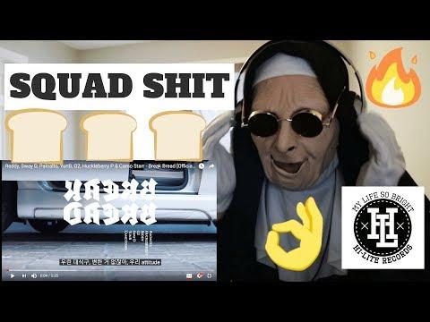 Reddy, Sway D, Paloalto, YunB, G2, Huckleberry P & Camo Starr - Break Bread | REACTION!