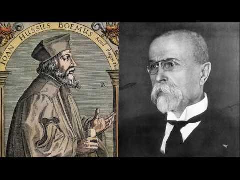 Jan Hus a Tomáš Garrigue Masaryk