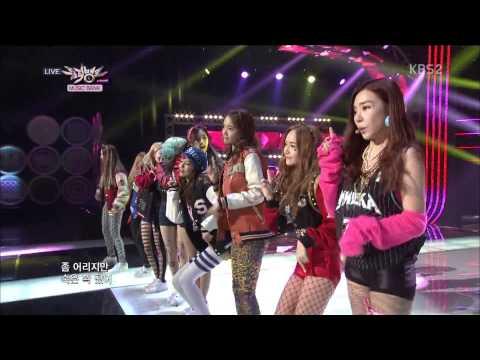 [HD] 130118 SNSD + I Got A Boy + No.1 Encore@KBS Music Bank