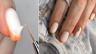 Неоновый френч Яркий летний маникюр Неоновый дизайн ногтей NEON FRENCH NAILS