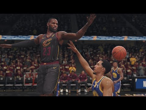 NBA LIVE 2018 Finals Game 3 Golden State Warriors vs Cleveland Cavaliers NBA Playoffs | NBA LIVE 18
