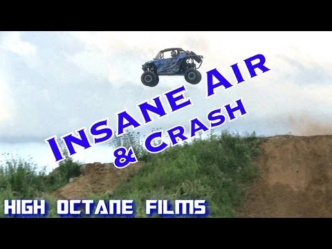 ETHAN OSBORNE INSANE AIR AND CRASH IN THE BLUEFIRE RACING MACHINE | UNLIMITED OFFROAD EXPO
