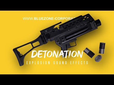 Detonation, Explosion Sound Effects, Grenade Launcher, Mortar, Explosive Charge, Deflagrations