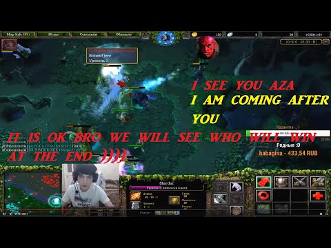 TheBaltazarTV Is Going After A3A4TOSTOBOY. AZA Where You  Are I Am Coming After You D)).  (DOTA)