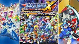 Rockman X Anniversary Collection 1 Stream - Mega Man X - X4