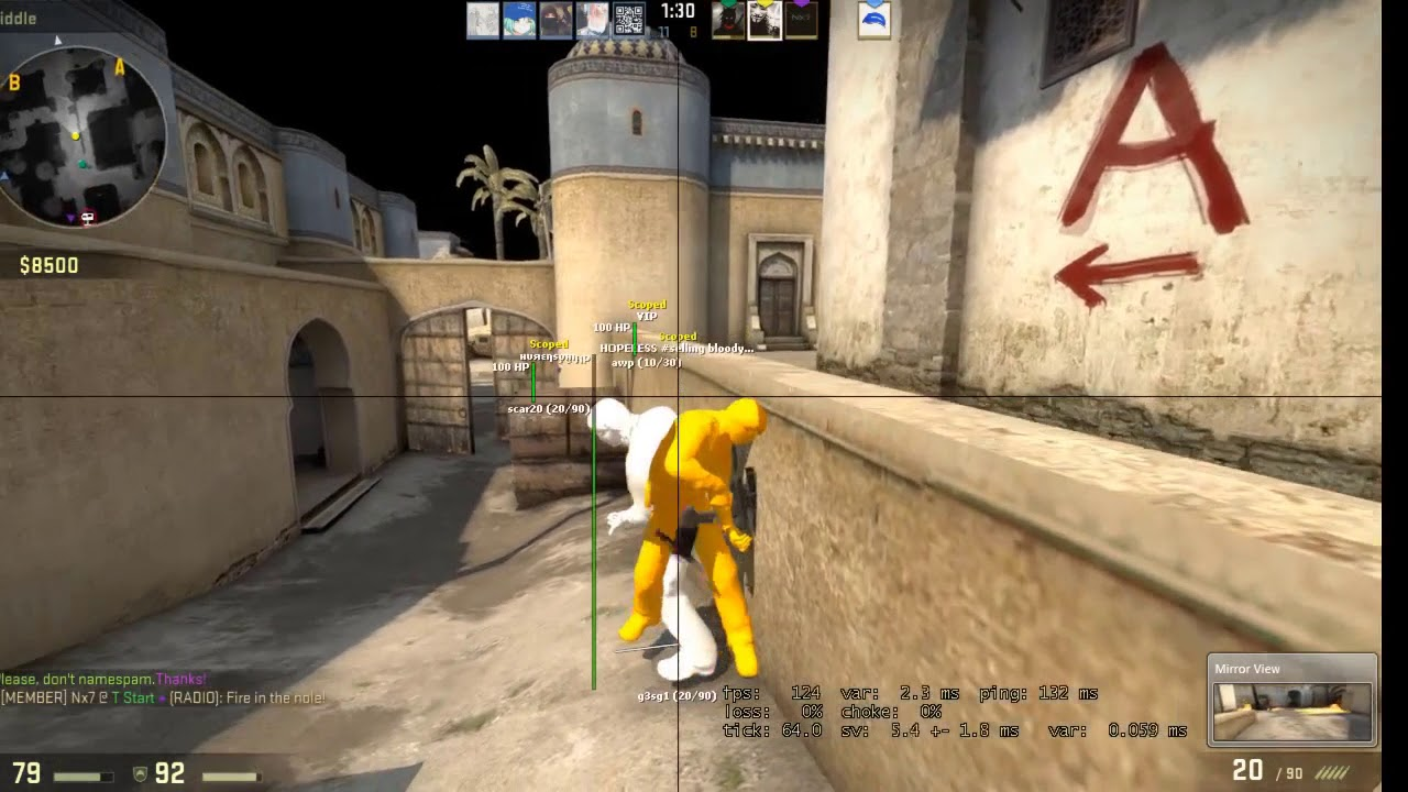 CSGO HVH VIDEO #4 ft Aimware| AIMWARE AFTER UPDATE OP???| WITH CFG