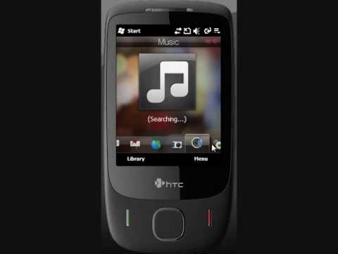 Video Capture HTC Mega 2DManila on HTC Touch 3G