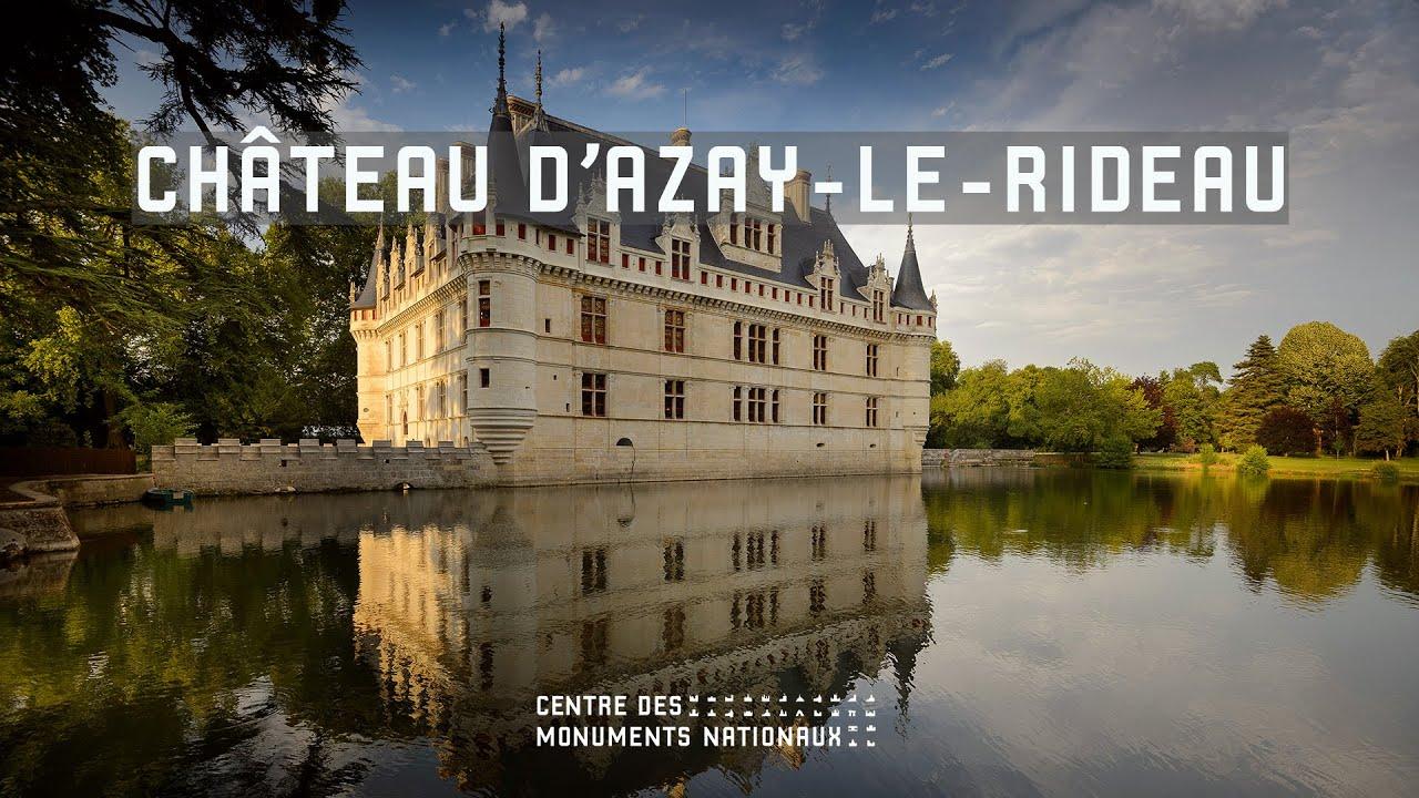 Château d\'Azay-le-Rideau - YouTube