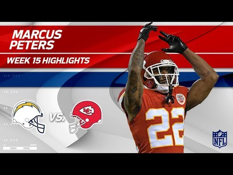 Marcus Peters Picks Off Philip Rivers Twice in Week 15!   Chargers vs. Chiefs   Wk 15 Player HLs