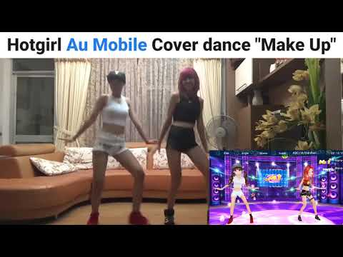 Hot girl Au Mobile cover -Make up dance