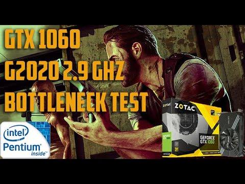 Max Payne 3 | GTX 1060 6 GB | G2020 2.9 GHz | Bottleneck Test