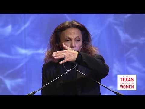 Diane Von Furstenberg Speaks at the 2016 TX Conference for Women