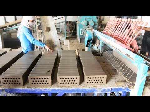 Machine made Clay Brick - First Time in India - Panesar BKO Production Time