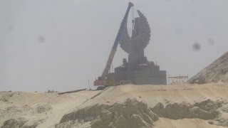 New Suez Canal scene in July 10, 2015
