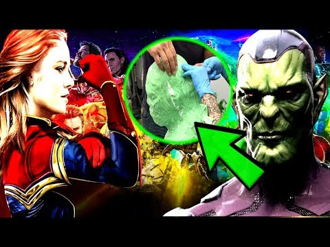 Nick Fury Is A SKRULL CONFIRMED!? First Look At The Skrull In Captain Marvel REVEALED!