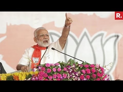 PM Modi's Full Speech In Gandhinagar