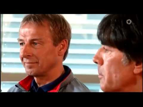 Joachim Löw and Jürgen Klinsmann Interview, 09.06.2015