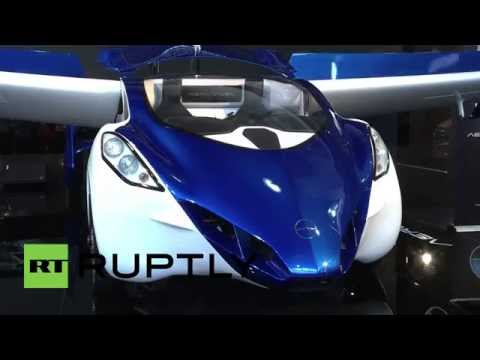 Monaco: AeroMobil's 'flying car' touches down at Top Marques Monaco