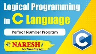 Perfect Number Program | Logical Programming in C | by Mr.Srinivas