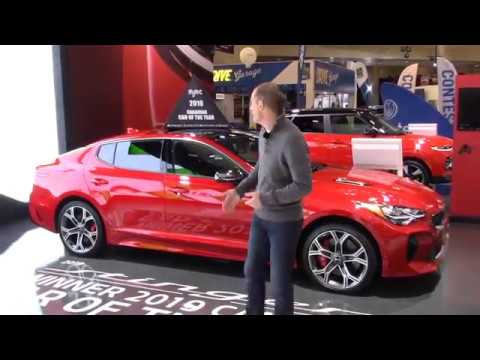 Kia Stinger - 2019 Canadian Car Of The Year