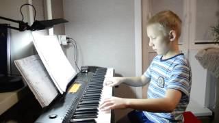 Танец маленьких лебедей. П.И.Чайковский На Пианино