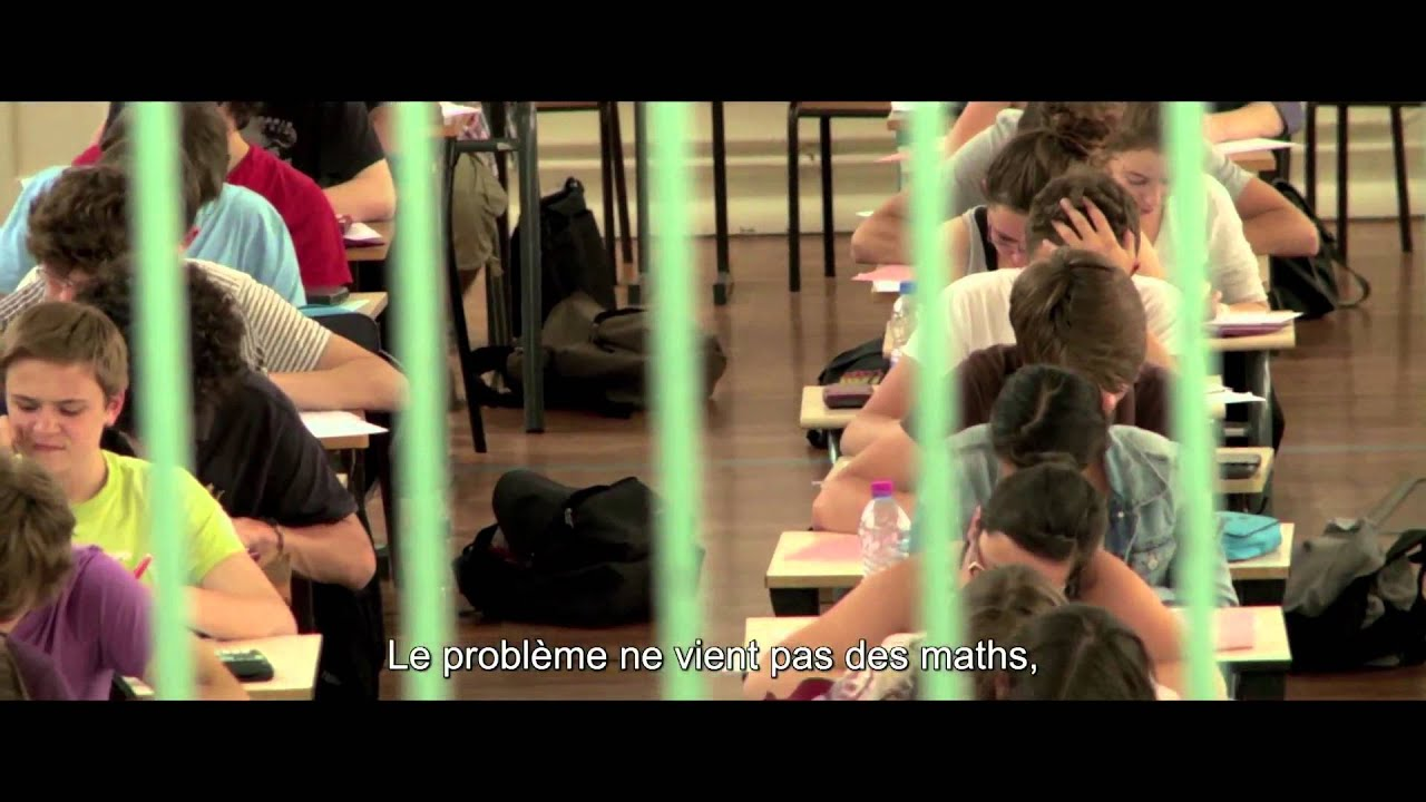 How I Came to Hate Math / Comment j'ai détesté les maths ... I Hate Math In French