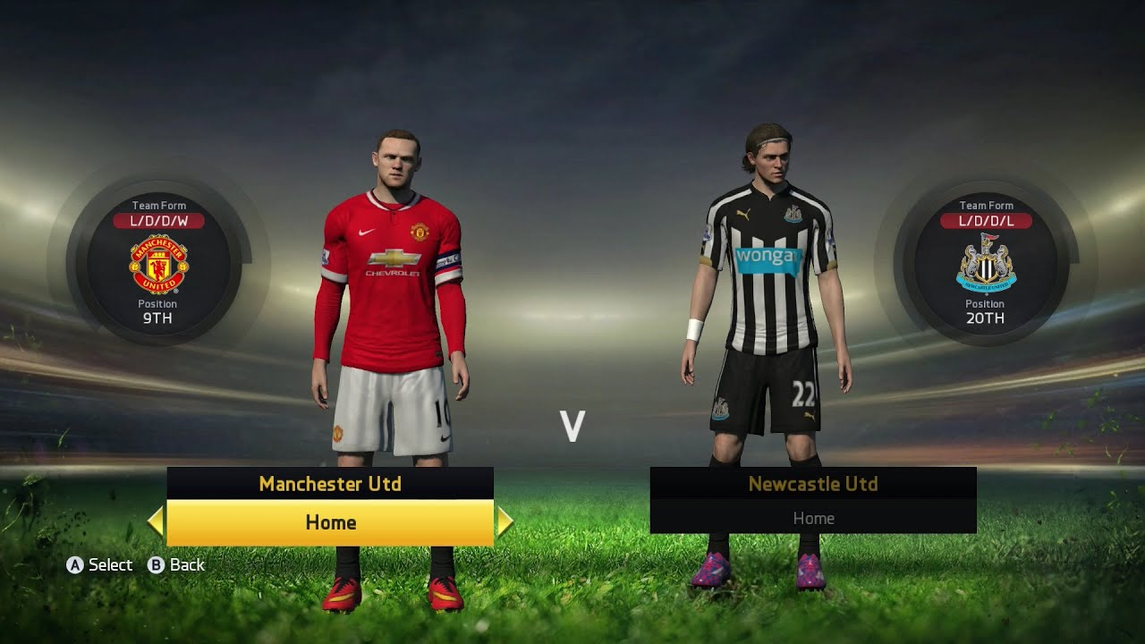 FIFA 15 - Barclays Premier League Ratings & Kits (PS4/Xbox ...