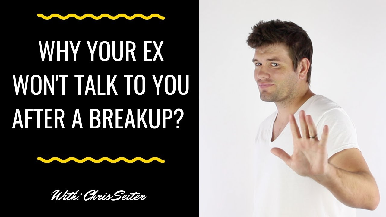 Reasons Your Ex Won't Talk To You (And What You Can Do About It)