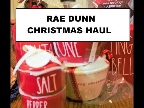 Jackpot Rae Dunn Haul Christmas Haul Full of Unicorns