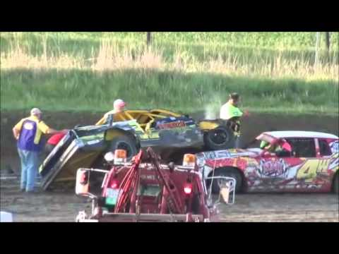 Stuart Speedway Austin Luellen Hobby Stock Feature June 3, 2012