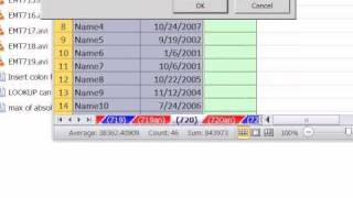Excel Magic Trick 720: Show Records Between 2 Dates: Filter, Logical Formula, Conditional Formatting
