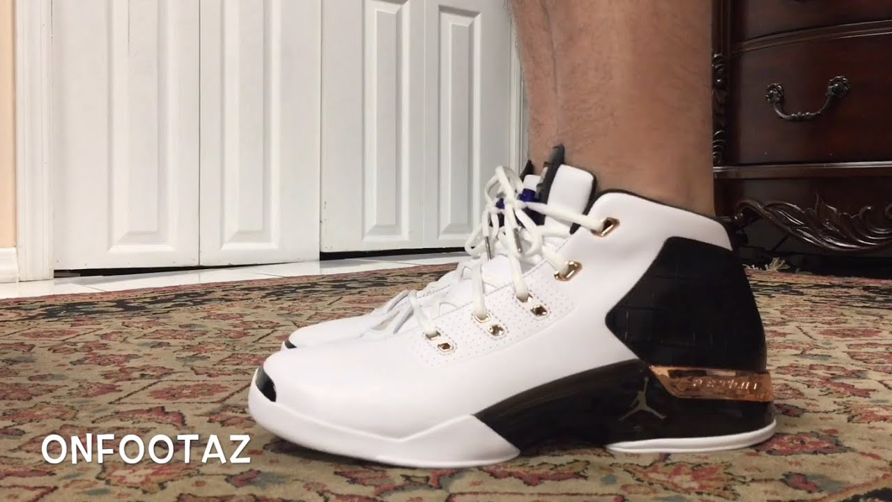 sports shoes dc4da b5bdb Air Jordan 17+ XVII Copper 2016 On Foot