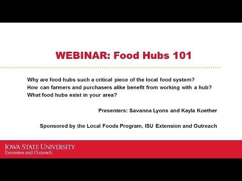 Food Hubs 101