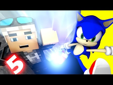 SONIC IN MINECRAFT 5 - (3D Minecraft Animation)