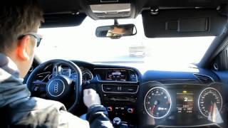 Audi RS4 450 л с Тест драйв Anton Avtoman