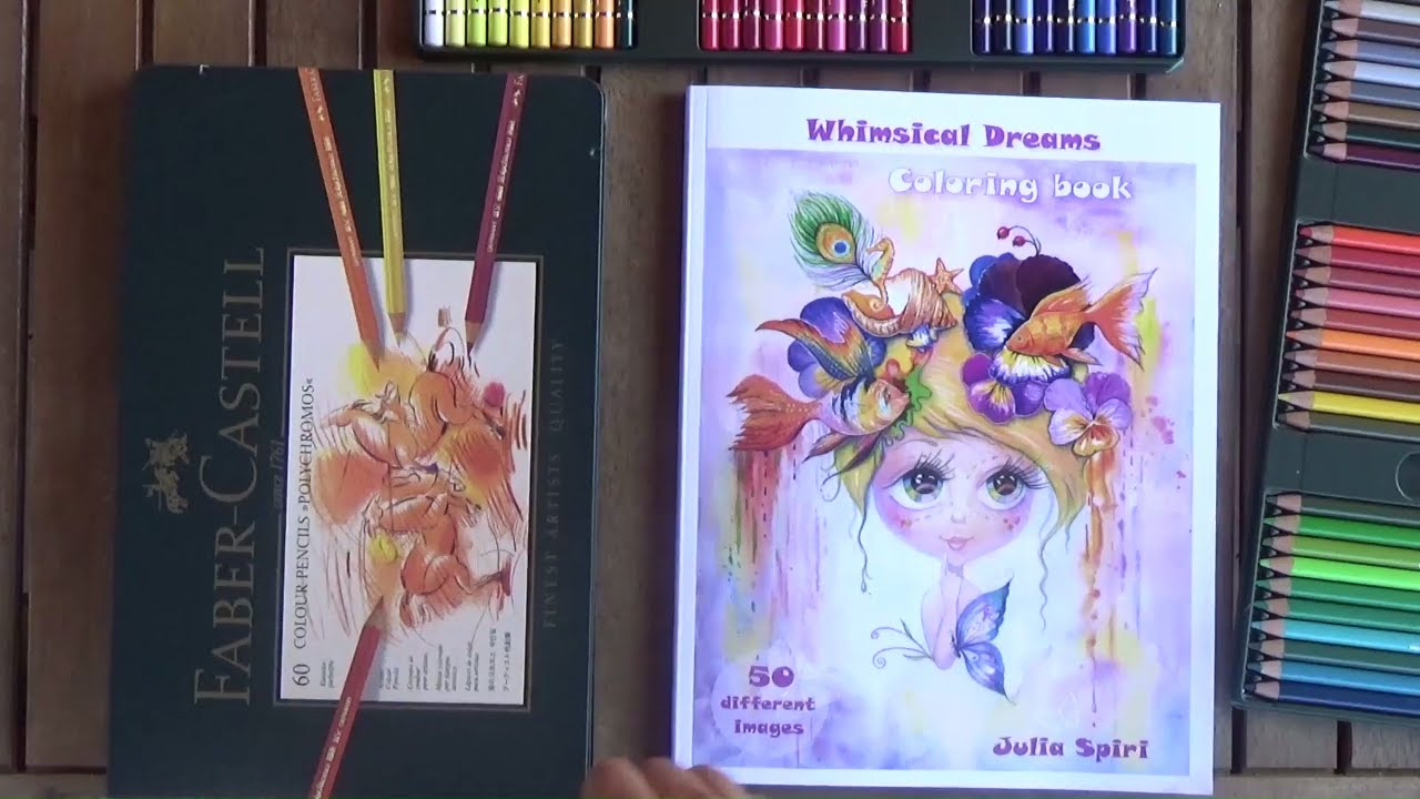 Coloring book for adults whimsical dream 50 fantasy Coloring books for adults youtube