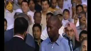 Он принял ислам, очень трогательное зрелище