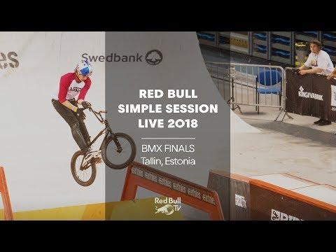 Live - BMX Finals at Simple Session 2018 | Tallin, Estonia