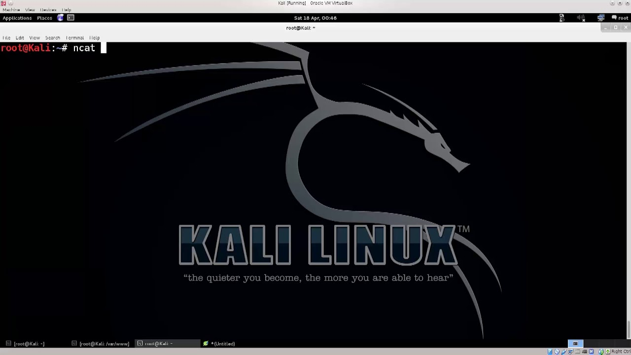 Learn Kali Linux Episode #71: Creating Reverse Shells with Netcat