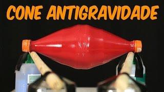 Aprenda a fazer um cone antigravidade