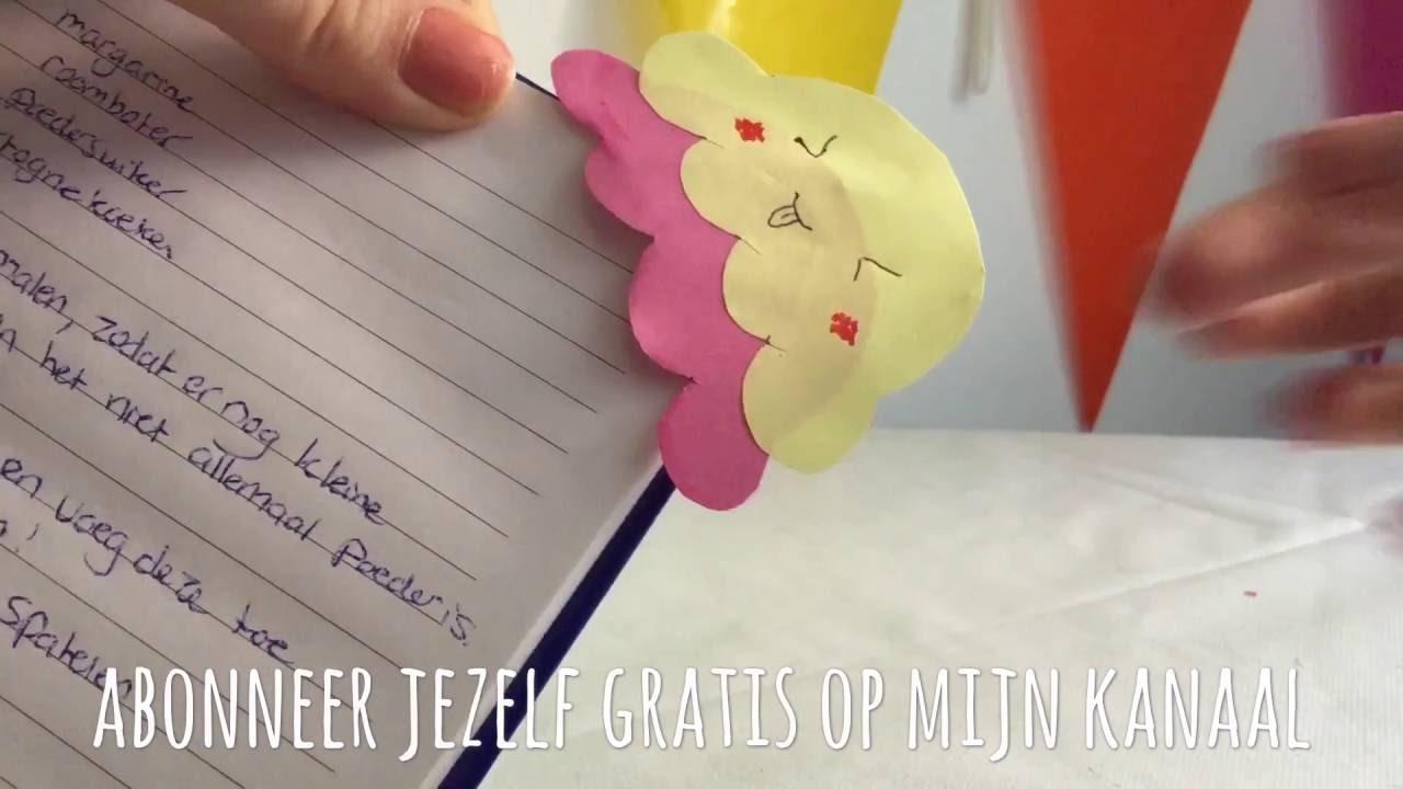 Super DIY leuke ijs bladwijzer / knutselen met papier / Doe het zelf &VS73