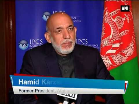 No doubt on Pakistan's role in supporting ISIS: Hamid Karzai - ANI News