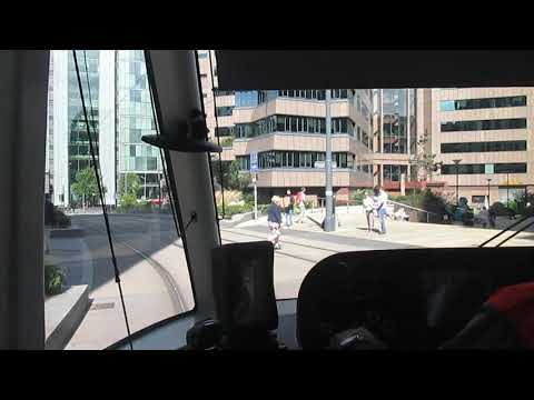 Midland Metro Driver's Eye View - Grand Central to Soho Benson Road