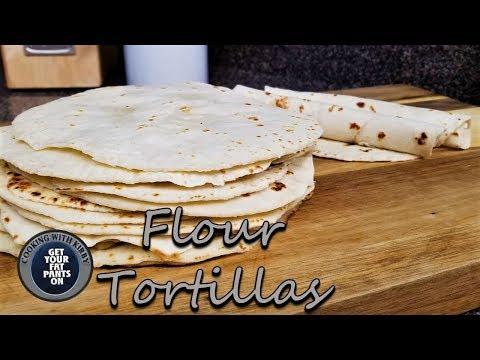 How to make soft Flour Tortillas – Tortillas de Harina – Mexican Food