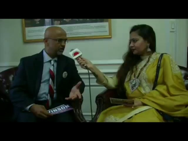 Vinson For School Board Talking to Manoranjan TV