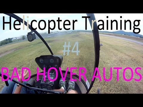 R22 Helicopter Add-On Flight #4 BAD Hover Autos l Approaches + Cockpit ...