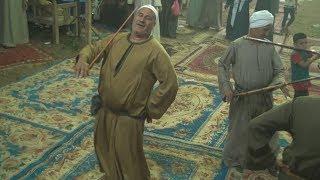 رقصه نادره جدا فى بلده بصعيد مصر على المزمار والارغول